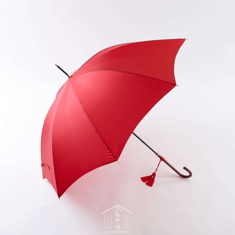 WAKAO イマージュ(センチュリーレッド) 長傘 傘の心斎橋みや竹